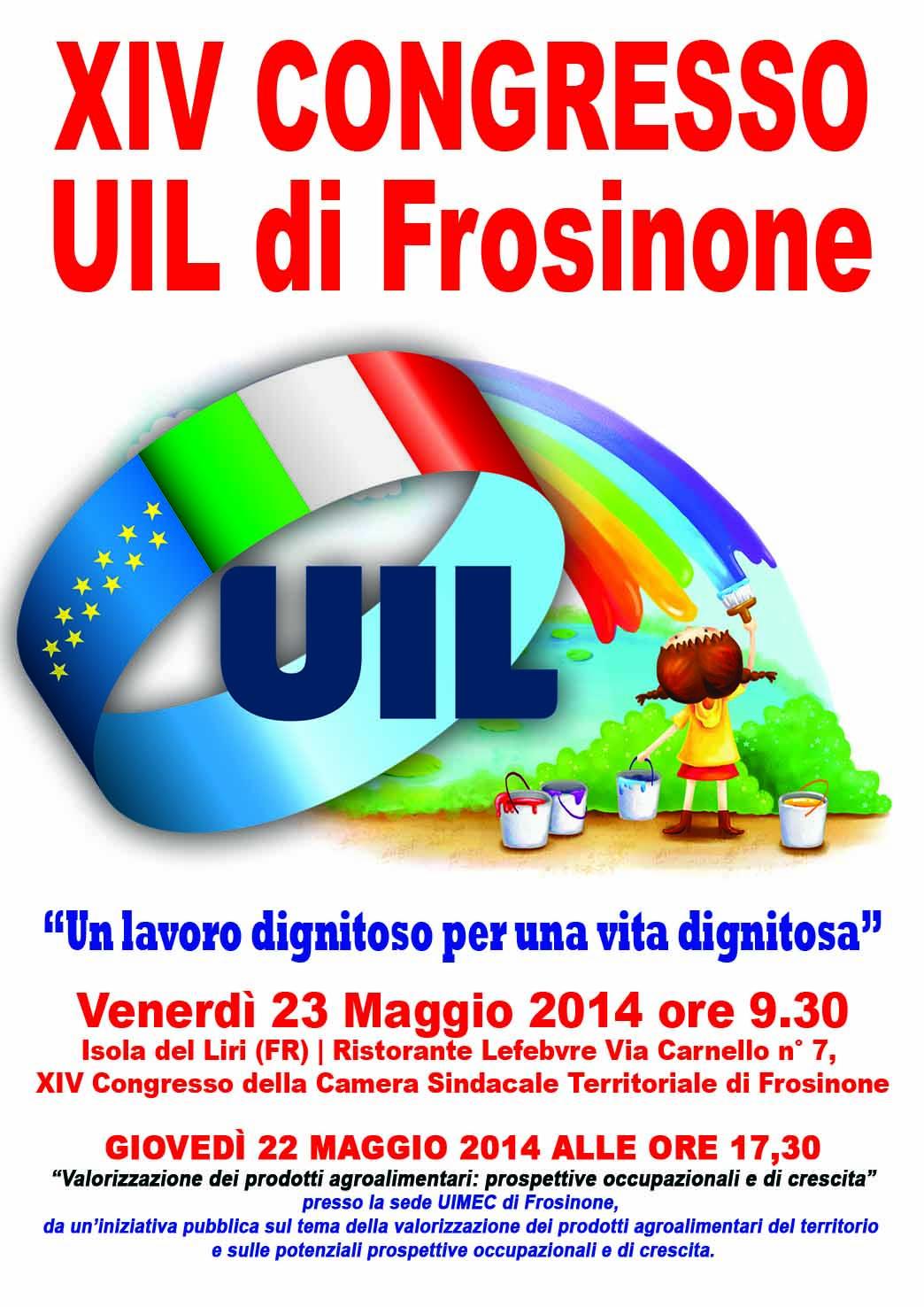 XIV CONGRESSO UIL di Frosinone