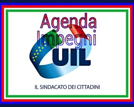 Agenda Impegni Uil Ottobre 2018