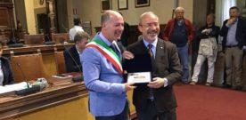 Barbagallo riceve il Premio Antonino Burrafato