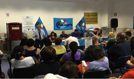 Barbagallo in assemblea al centro di smistamento postale di Fiumicino