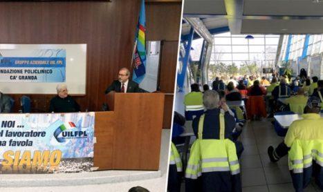 Barbagallo in assemblea con i lavoratori del Policlinico di Milano
