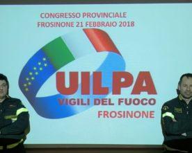 VINCENZO SPINELLI CONFERMATO SEGRETARIO GENERALE DELLA UILPA VIGILI DEL FUOCO.