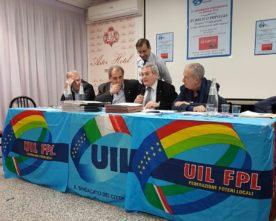 PAOLO PANDOLFI CONFERMATO SEGRETARIO GENERALE DELLA UIL FPL