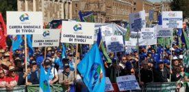 Bombardieri: tantissimi lavoratori per denunciare situazioni di disagio e illegalità